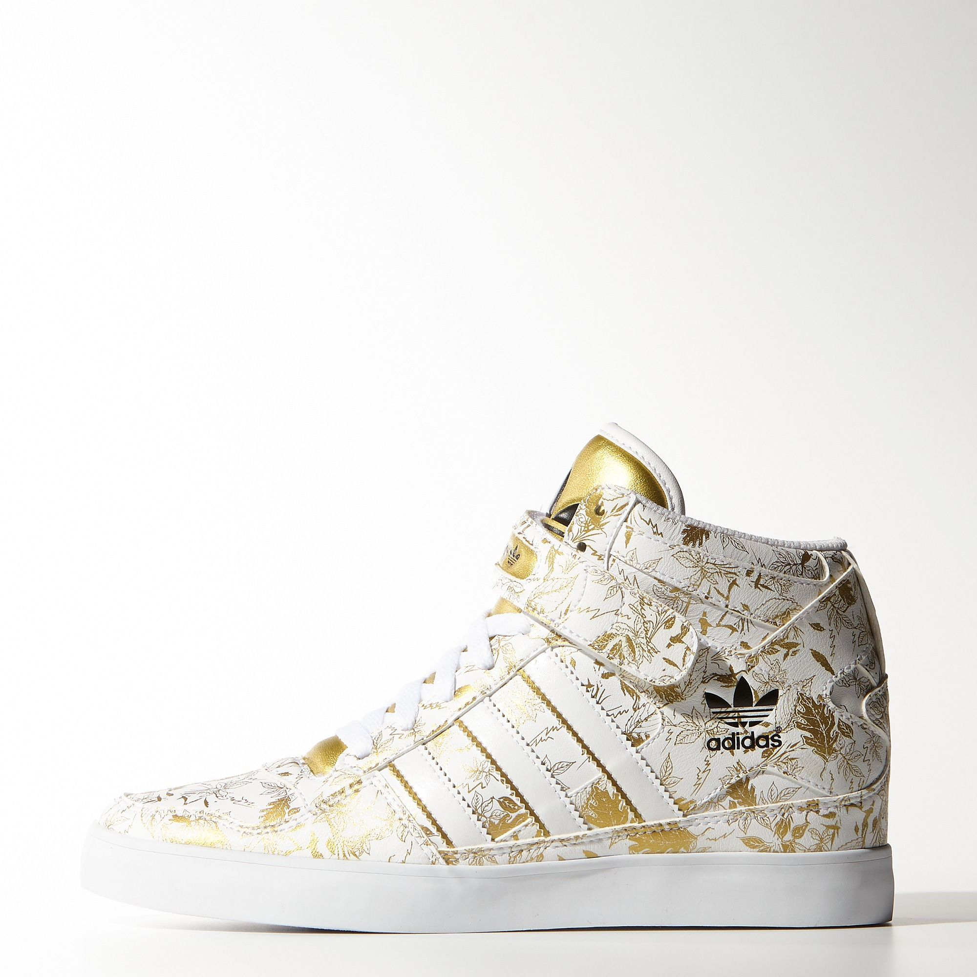 reputable site 48f32 bd125 adidas - Forum Up Shoes Running White Ftw   Metallic Gold   Black