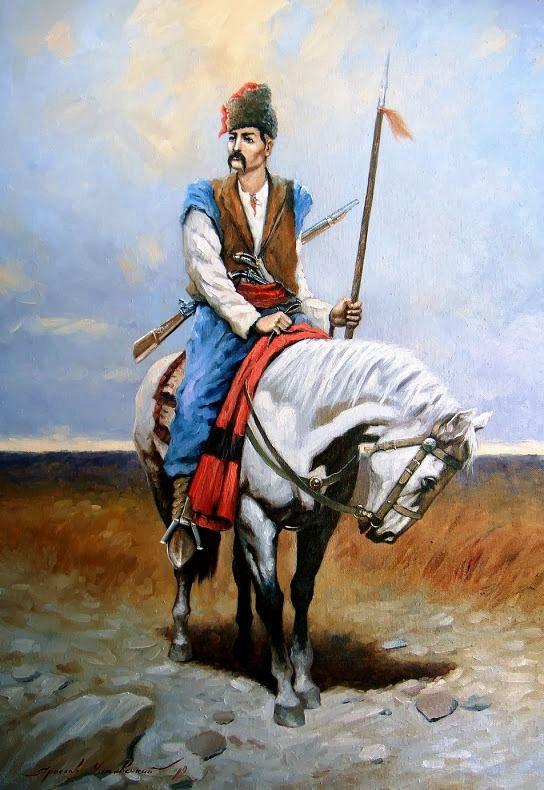 все картинка казака на коне пары связывают