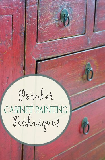 Popular Cabinet Painting Techniques D I Y How To S Diy