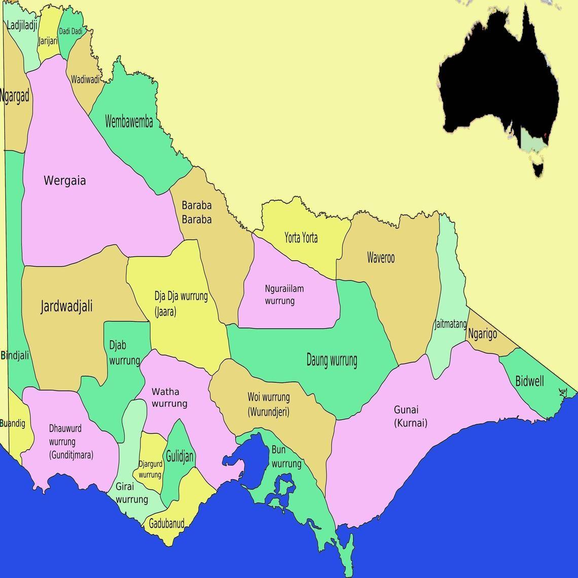 Aboriginal tribes, Victoria, Australia Aboriginal