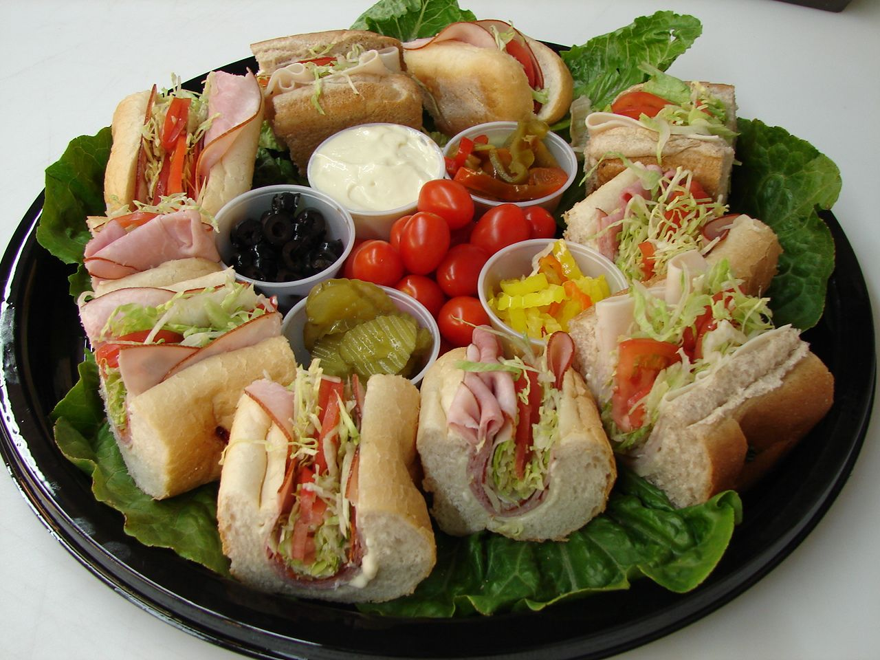 Party Planning: Make DIY Sandwich Platters | Cater-Hater | Party ...