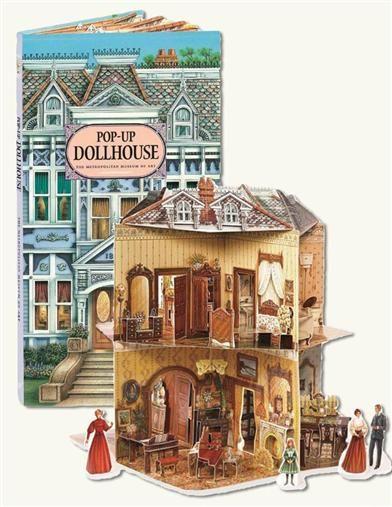 Dollhouse Kits Dollhouses Dollhouse Furniture Victorian Dollhouse Pop Up Books