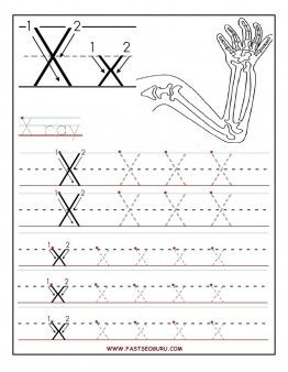 48++ Writing letter x worksheets Top