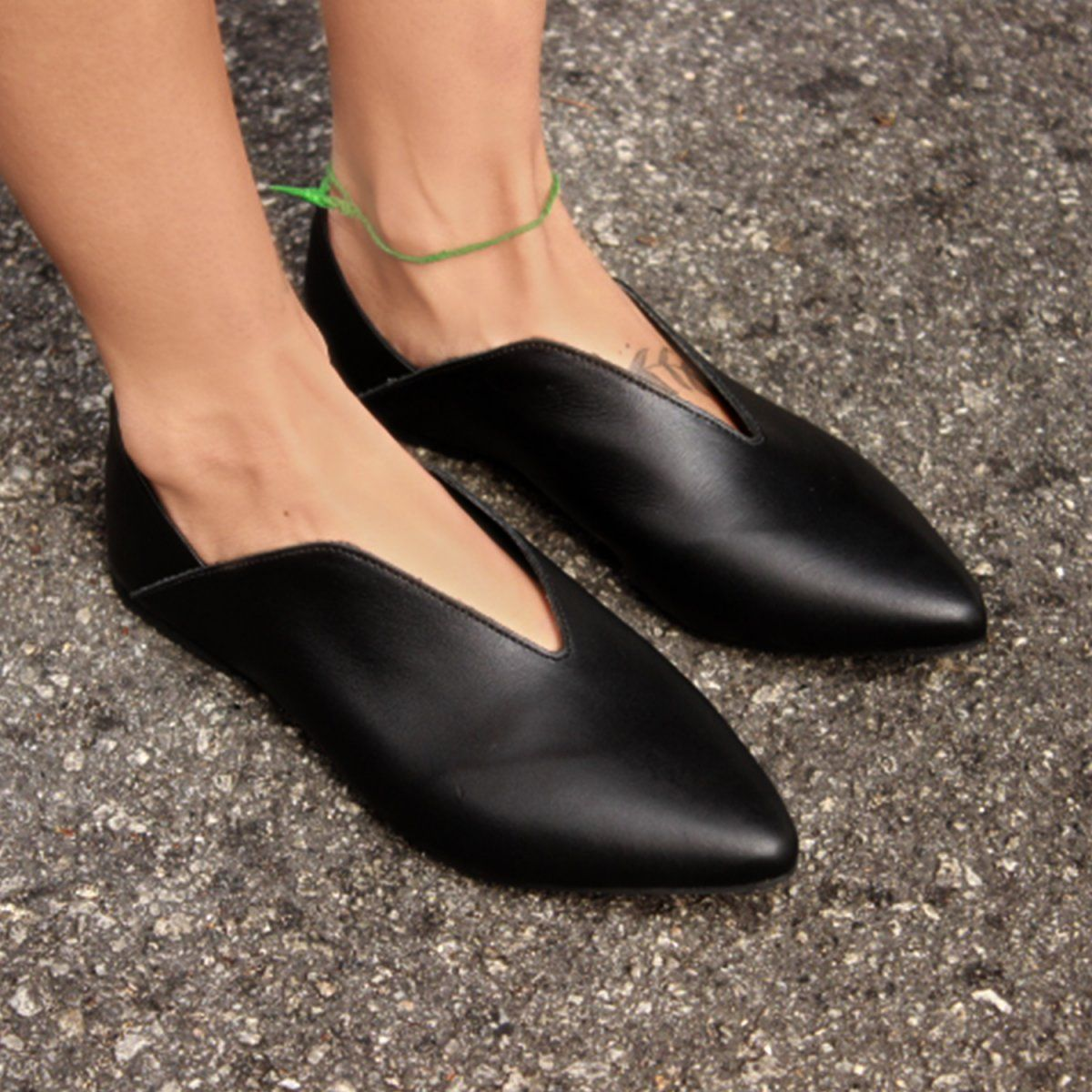 728e4c71f SAPATILHA V-NECK - Preto - Sapatilha V-neck - Wishin´ - Sapatos ...