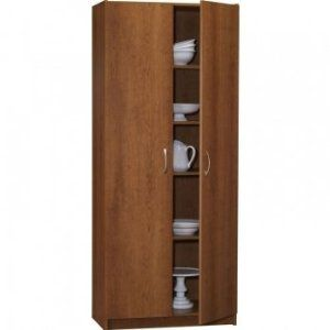 Ameriwood Double Door Pantry 30 Inch Wide Great For Fabric Storage 140 Double Doors Tall Cabinet Storage Pantry