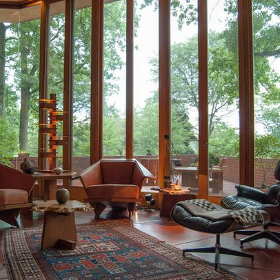amazing Frank Lloyd Wright home in Ohio.                                                                                                                                                                                 Plus