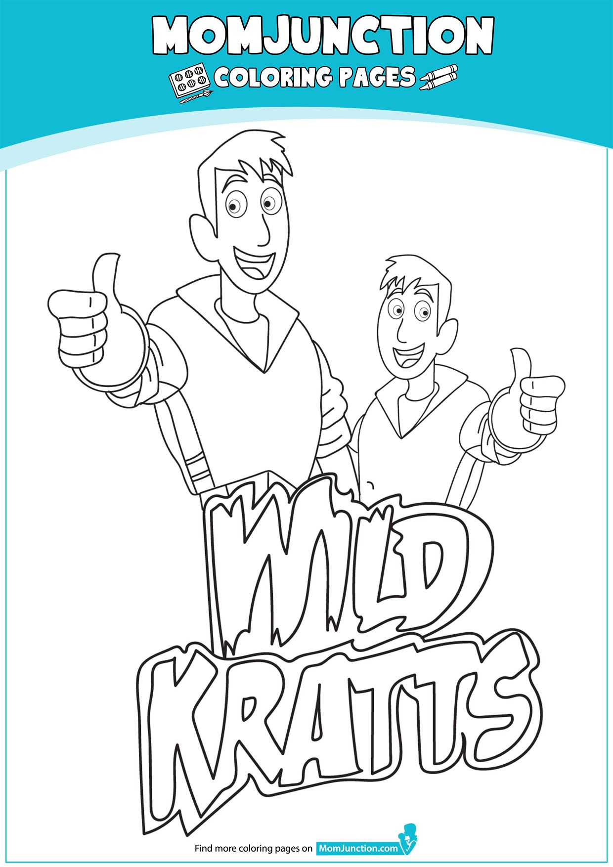 Print Coloring Image Momjunction Coloring Pages Captain America Coloring Pages Wild Kratts