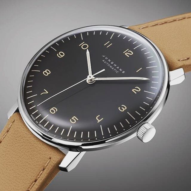#Junghans #Watch by Max #Bill - bauhaus-movement.com