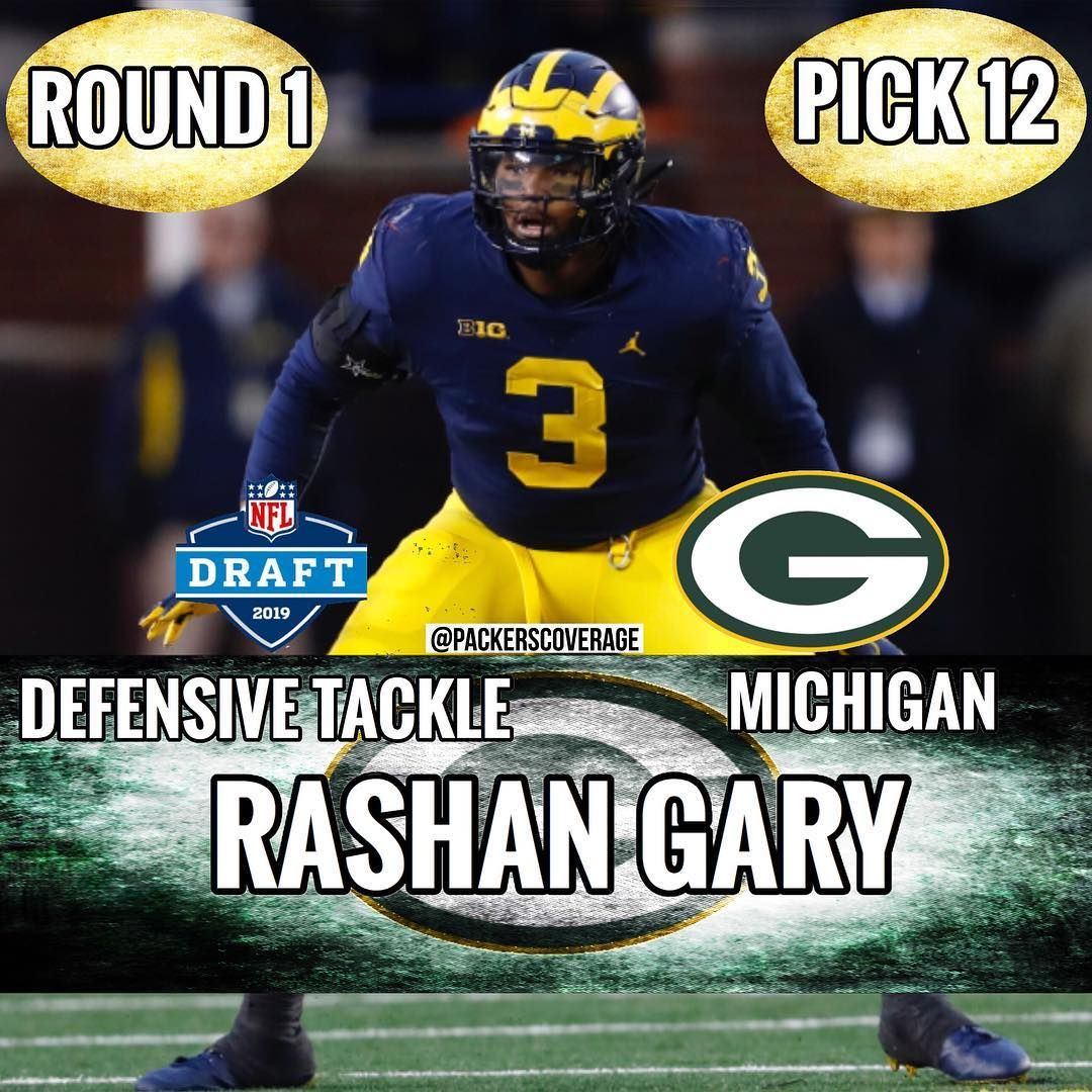 Green Bay Packers On Instagram With The 12th Pick In The 2019 Nfl Draft The Packers Have Selected Michigan Dt Edge R Green Bay Packers Green Bay Nfl Draft