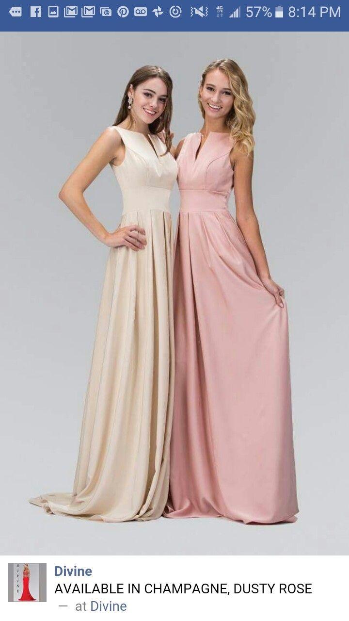 Pin de Ebony Black en Bridesmaids dresses | Pinterest