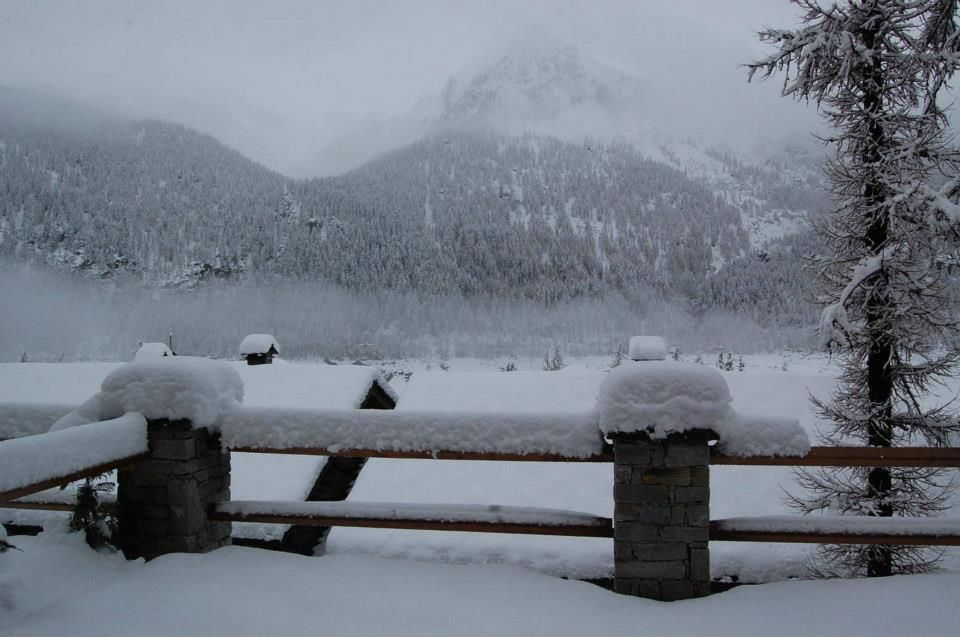 Sequence of photos of April snowfall at Cere. Credits: Paolo B. Here about 30 cm. (Ceresole Reale, NW Alps, Italy)