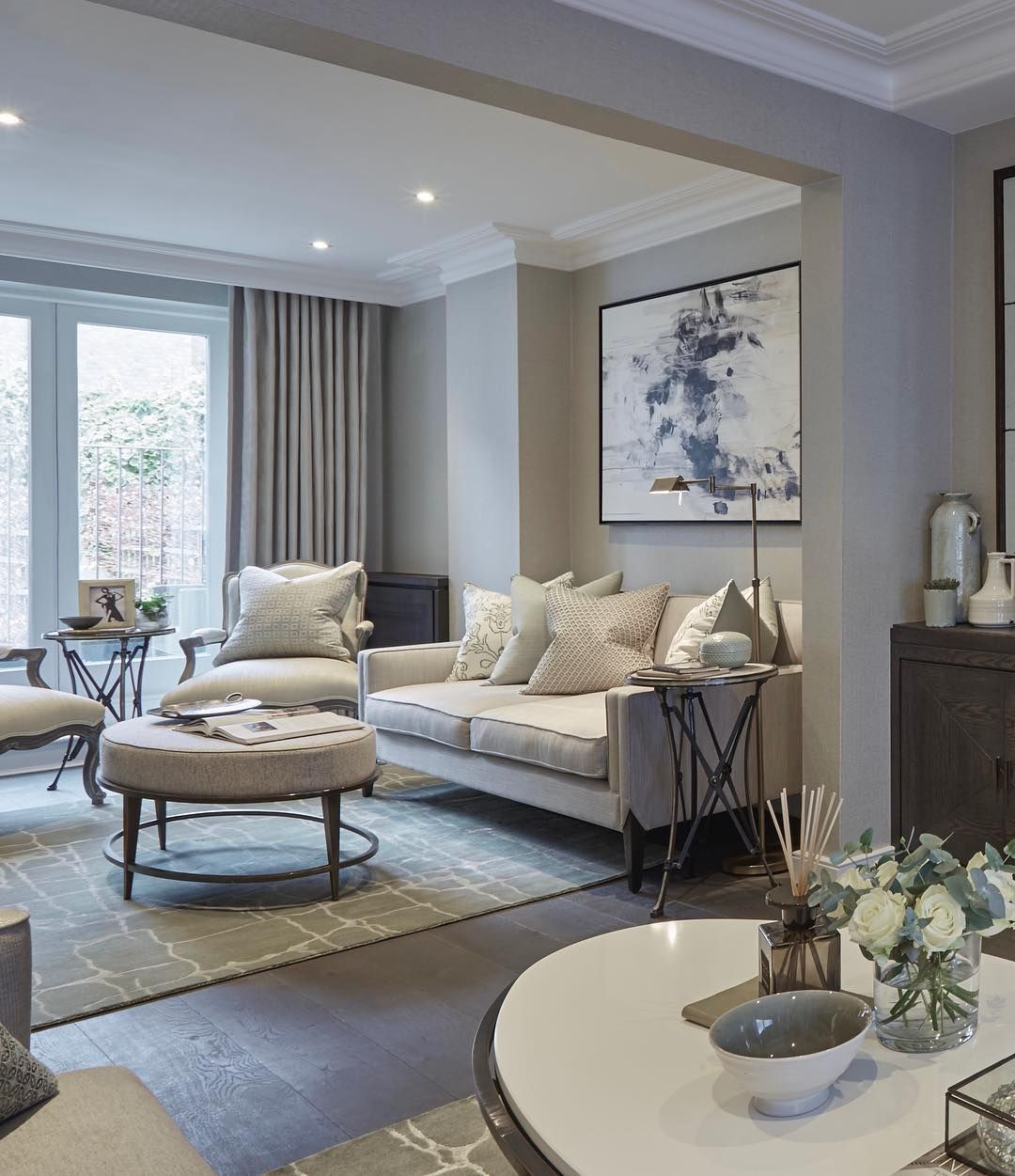 Sophie Paterson On Instagram Chelsea Townhouse Sitting Room With Taupe And C Che In 2020 Living Room Color Schemes Taupe Living Room Living Room Dining Room Combo #taupe #and #grey #living #room
