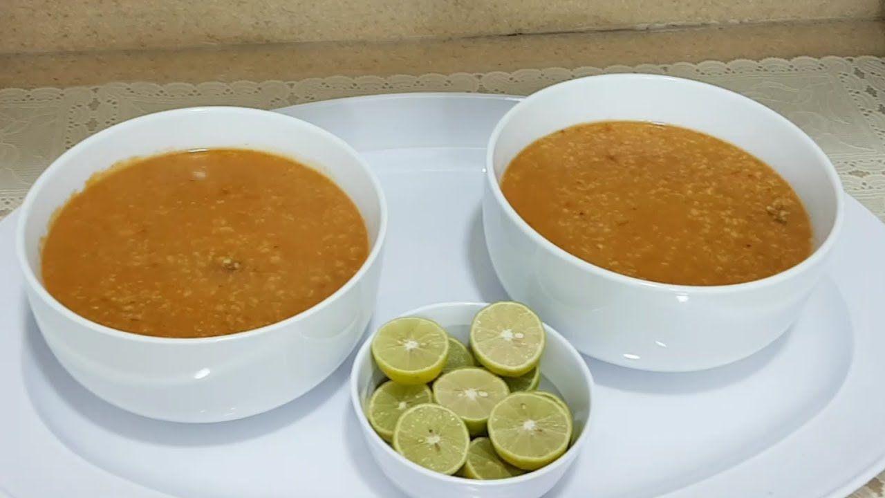 شوربة الشوفان بلحم الغنم بطريقتي الخاصه Youtube Middle Eastern Recipes Soups And Stews Food
