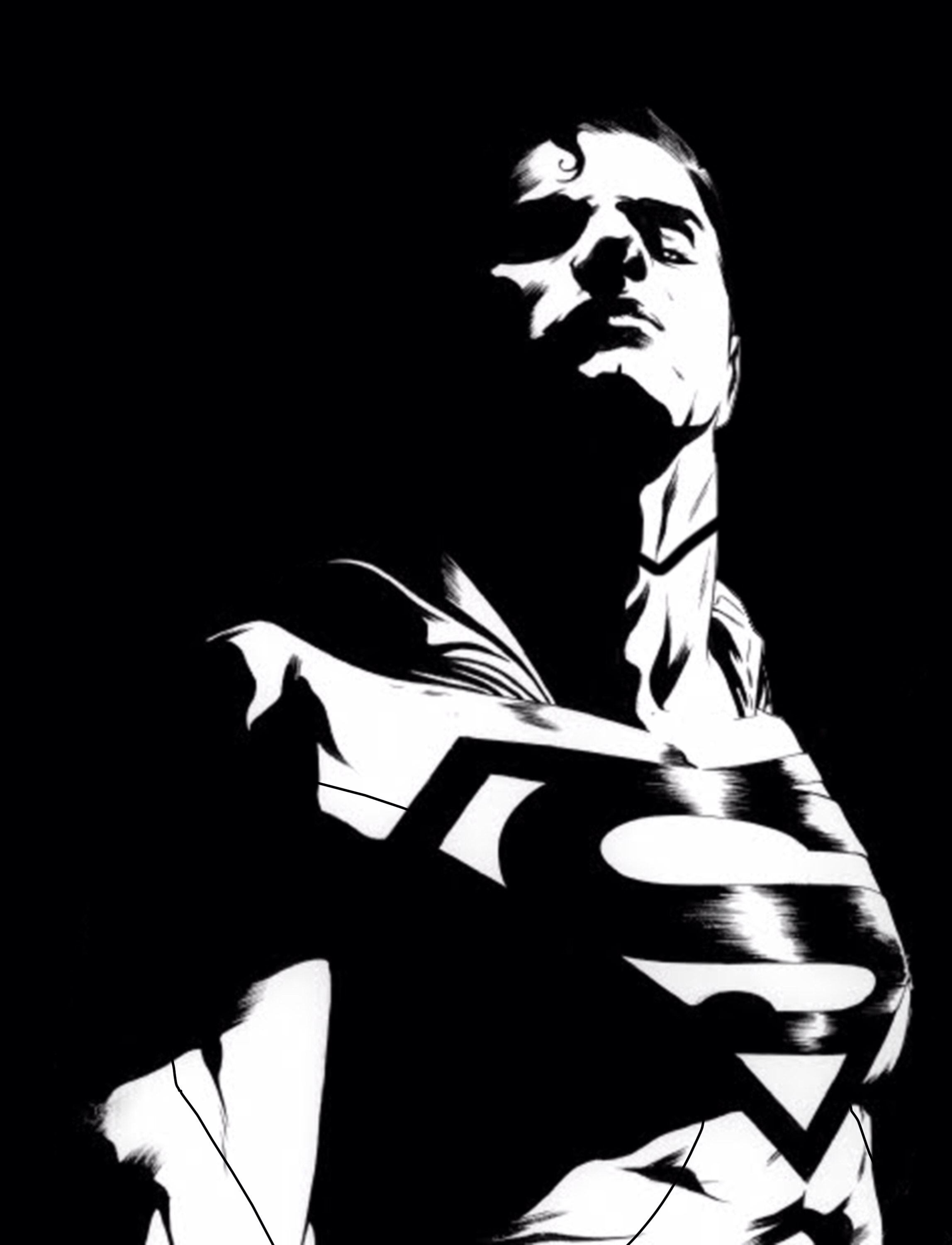 Dc Comic Black And White Art Black And White Photography