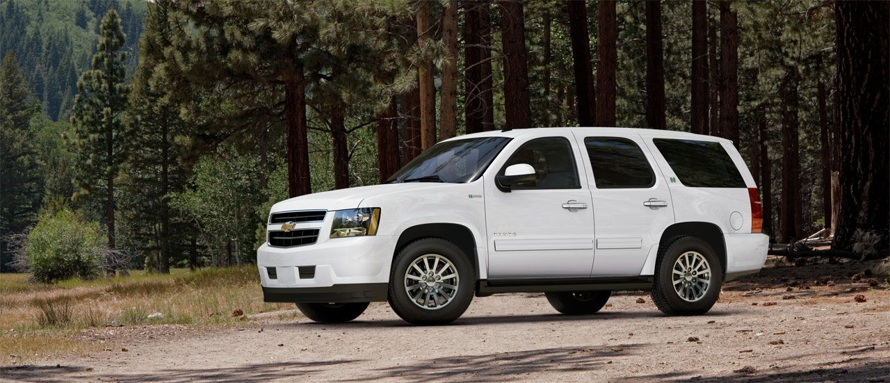 2013 Chevy Tahoe Hybrid Suv Chevrolet Towing Capacity 6 000