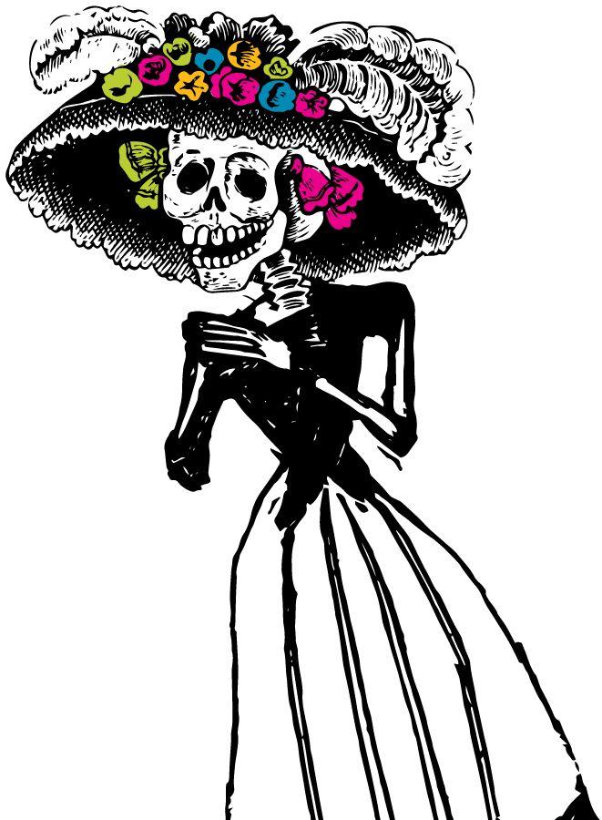 explore mexican halloween happy halloween and more catrina png mexican halloweenhappy halloweenskull - Mexican Halloween Skulls