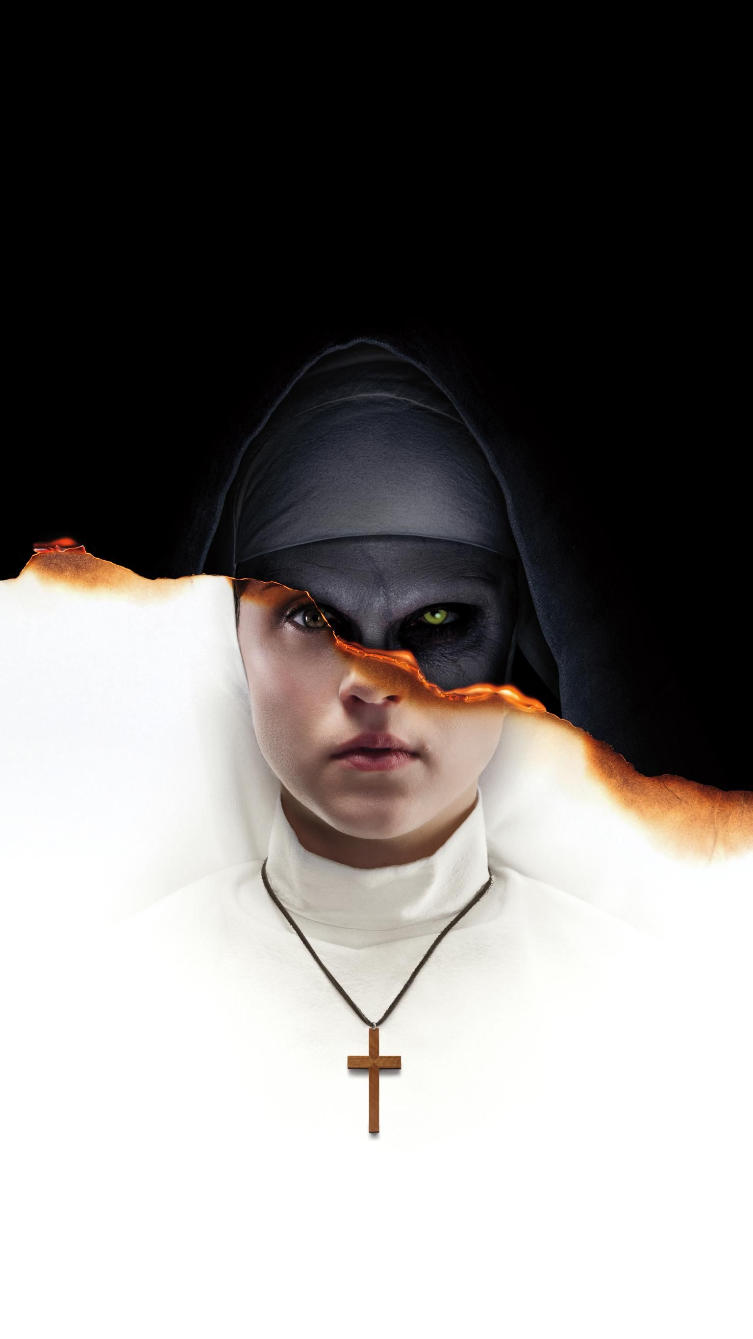 The Nun 2018 Phone Wallpaper In 2019 Movie Wallpapers