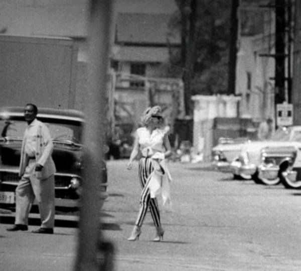Marilyn during the filming of Let's Make Love, 1960.