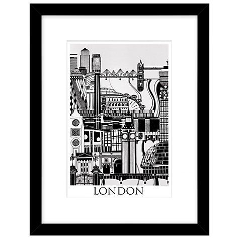 Buy emma hardicker london framed print 43 x 33cm online at johnlewis com