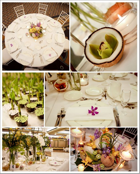Tropical Hawaiian Themed Wedding Wedding Type Things Pinterest
