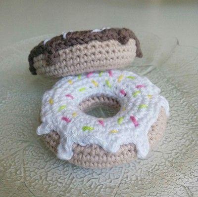 LiteVirkning - Virkade Munkar med mönster (crochet) | Virkning ...
