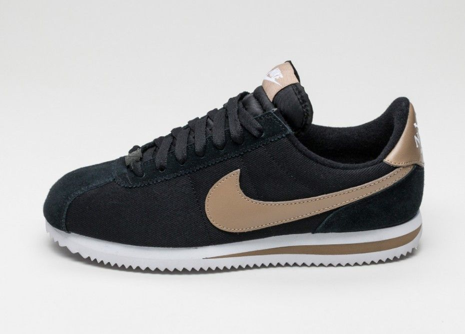 online retailer d454d cc7a6 Nike Classic Cortez Basic Premium QS (Black / Desert Camo ...