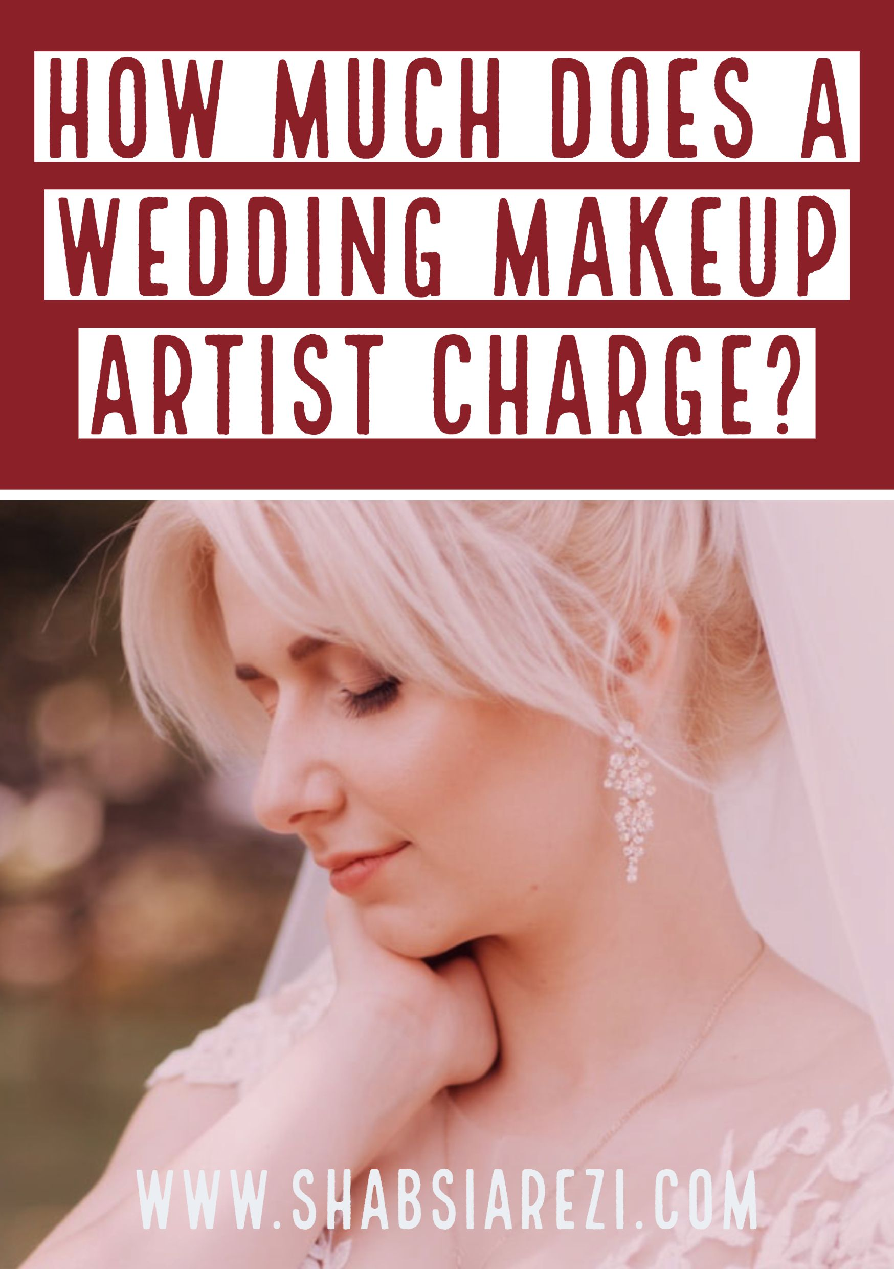 How much does a wedding makeup artist charge wedding