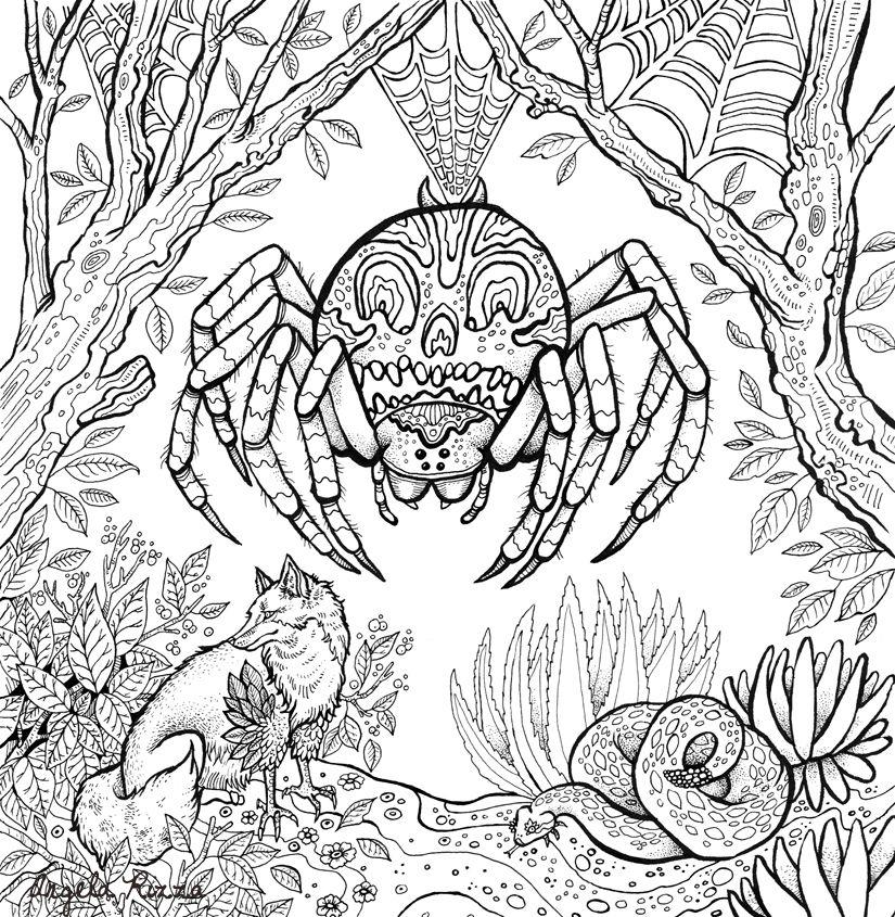 Fantasy Coloring Book For Michael OMara Books