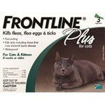 Merial Frontline Plus Flea and Tick Control for Cats and Kittens  3 Doses  For Cats 8 Weeks and Older: http://www.amazon.com/Merial-Frontline-Control-Kittens-Doses/dp/B0002J1F76/?tag=httpbetteraff-20