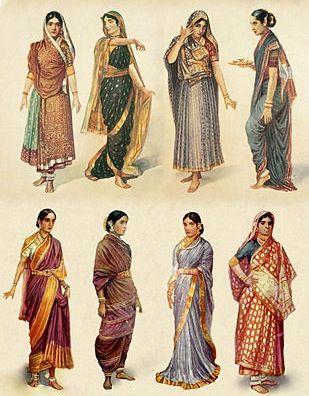 indian clothing fashion illustrations | Fashion illustrations ...