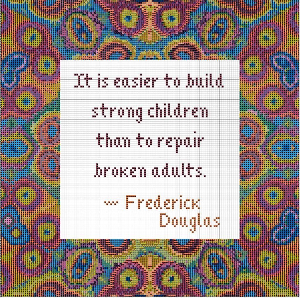 Freebie Frederick Douglas Quote