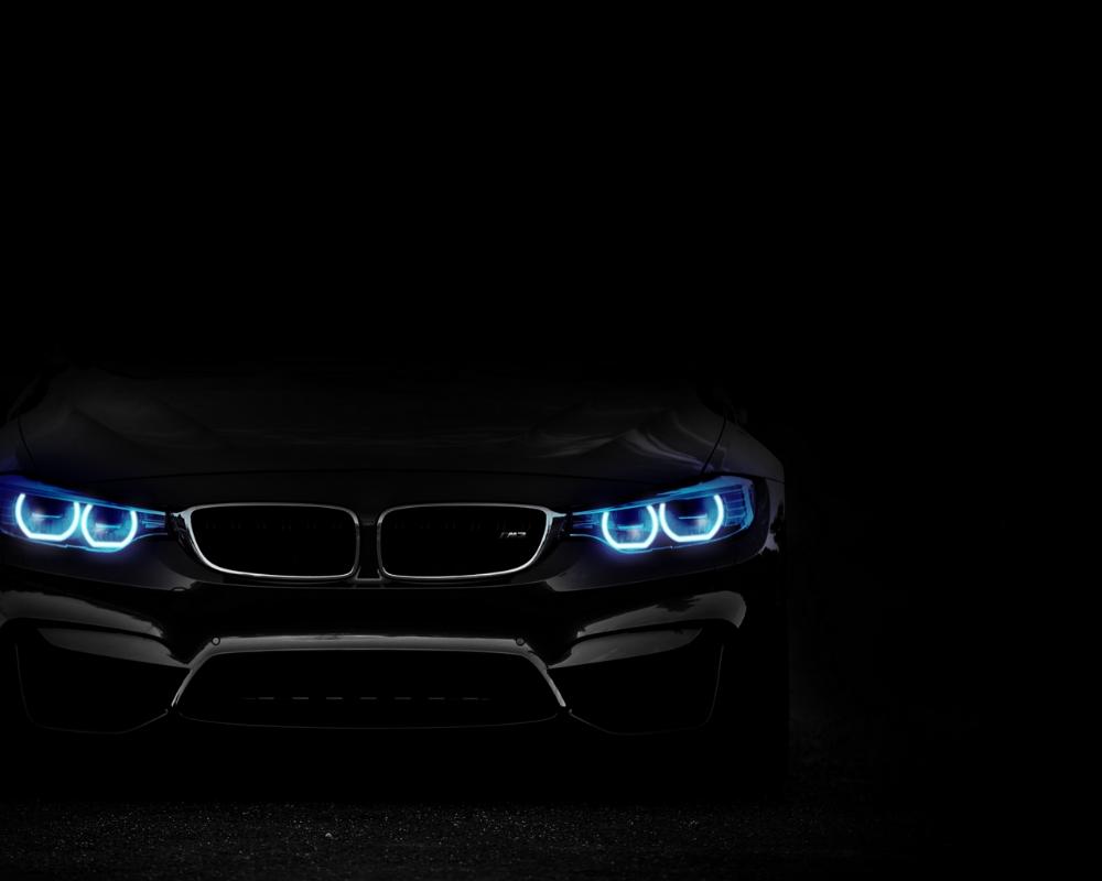 Download Wallpaper 1280x1024 Bmw Headlights Lights Car Dark Standard 5 4 Hd Background Bmw Wallpapers Bmw Car Headlights