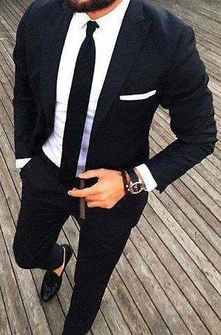 3 Best Shoes For The White Suit Wedding Suits Men Black Suit