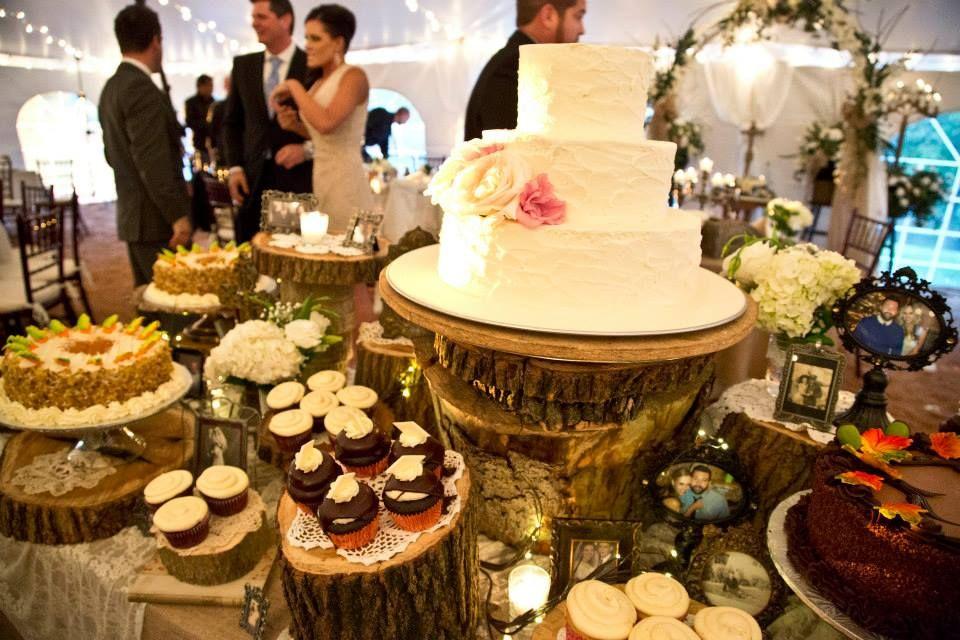 Love & Faith, wedding, decor, decorations, cake table, tent, fall ...