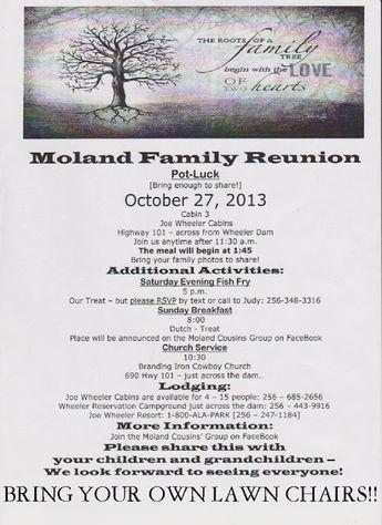 family reunion invite wwwbepresentberealblogspotcom Gathering