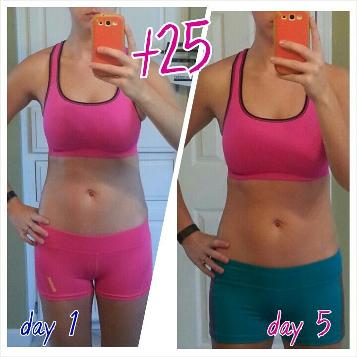 Wow what a difference a week makes!!! #t25 #Beachbody t25