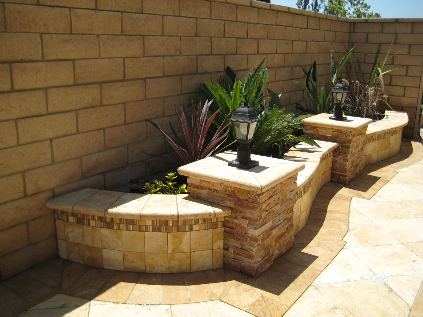 Exceptional Outdoor Living With Natural Stone   Traditional   Landscape   Orange County    M S International, Inc. Amazing Pictures