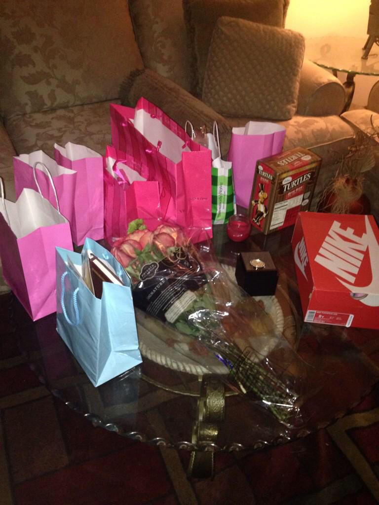 12 gifts for 12 months together