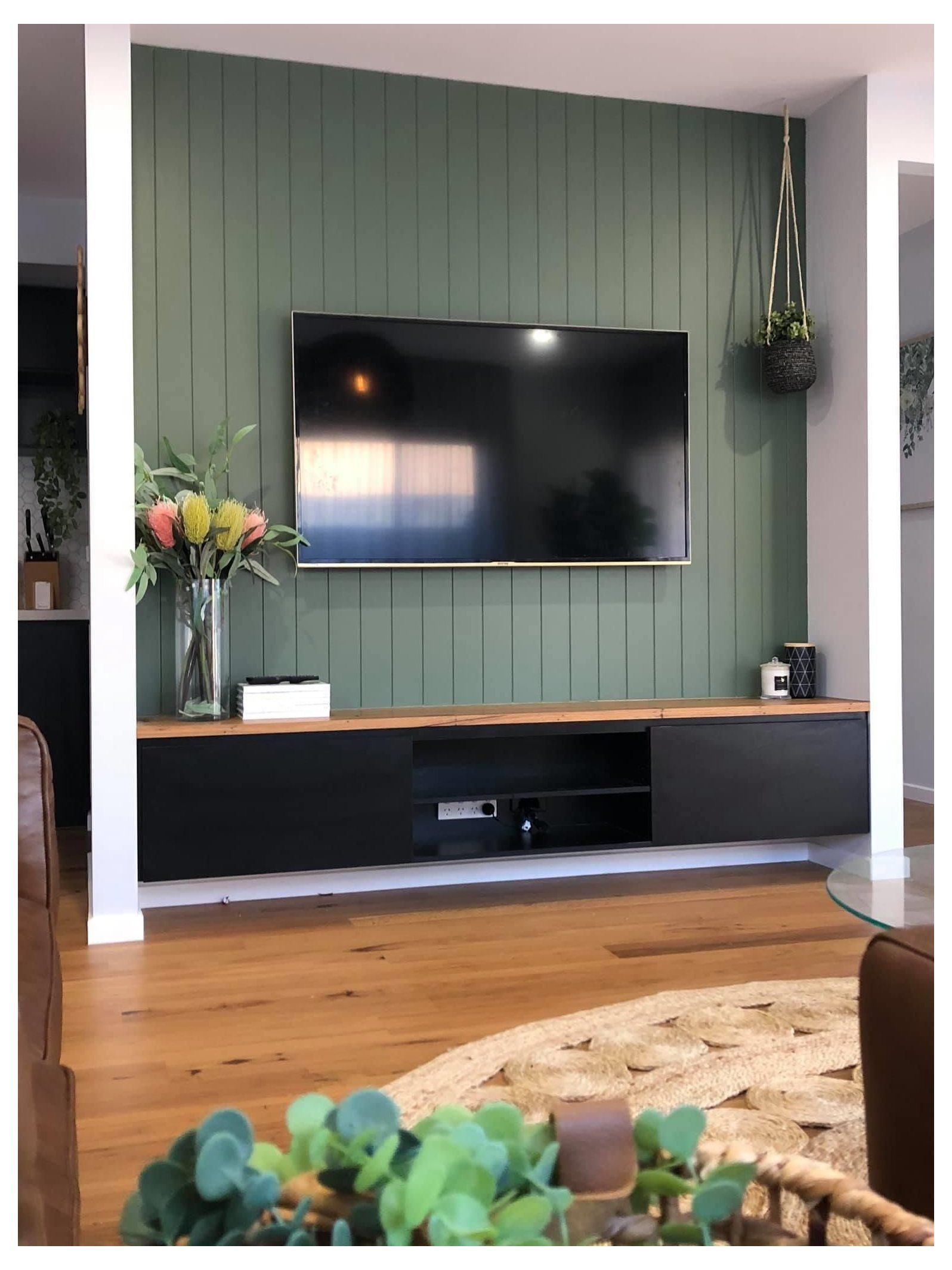 Lounge Room Feature Wall Feature Wall Living Room Living Room Panelling Lounge Room Styling