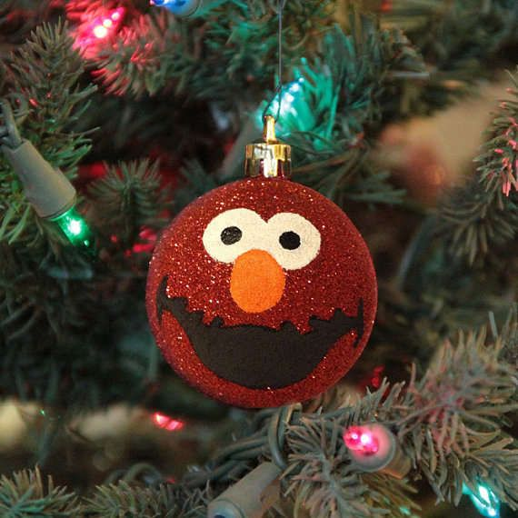 the elmo christmas ornament attracts a younger audience christmas ornaments trendhuntercom