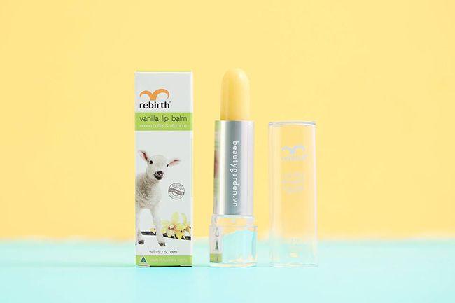 Son Dưỡng Môi Nhau Thai Cừu Rebirth Vanilla Lip Blalm