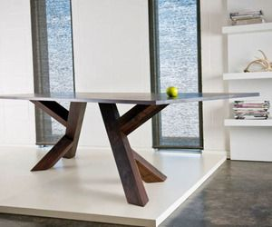 Modern Trestle Dining Table 4 Vintage Dining Room Table Modern