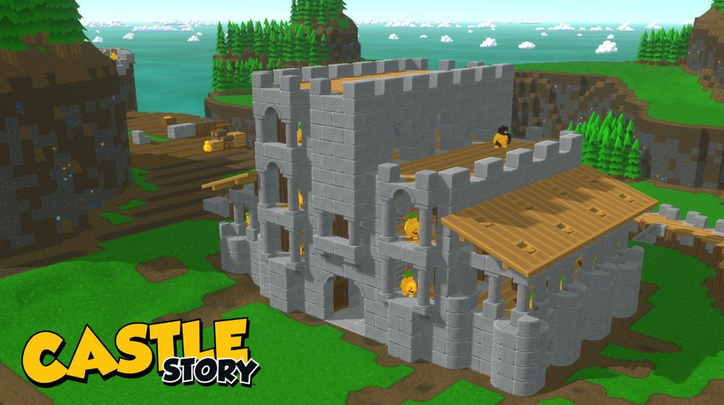 Castle Story Castle Story is a Brilliant sandbox video game