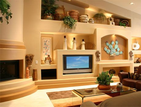 cosy drywall entertainment centers. After image of a DAGR Design custom drywall entertainment center project