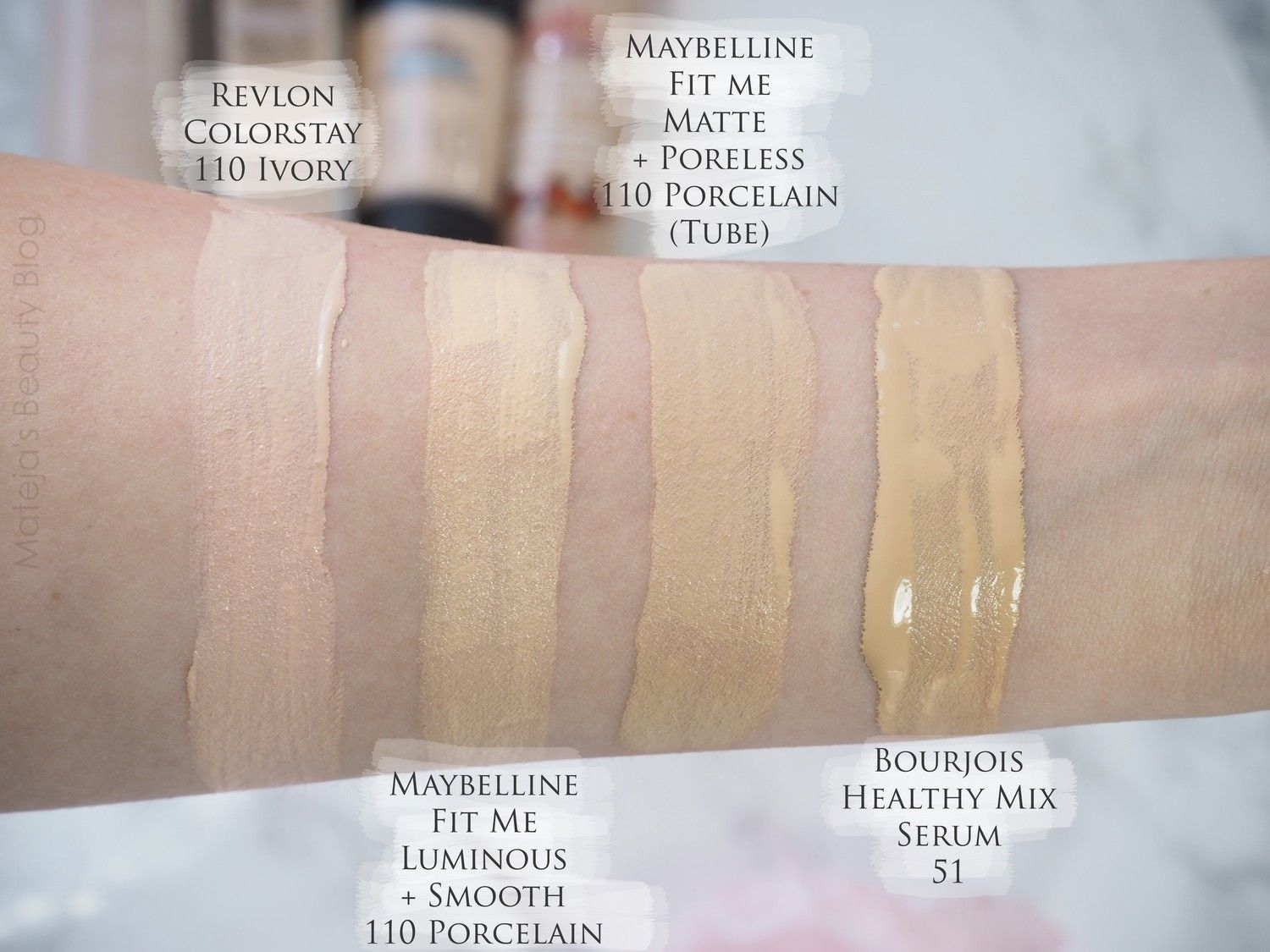 15++ Maybelline fit me matte foundation swatches inspirations