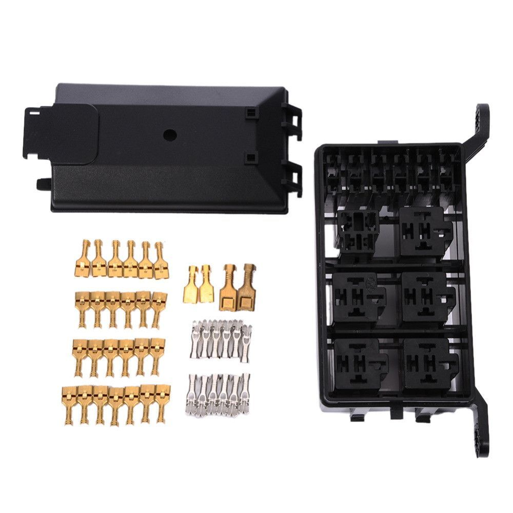 Auto Fuse Box 6 Relay Holder 5 Road The Nacelle Insurance Car Vehicle Cover For Circuit Blade