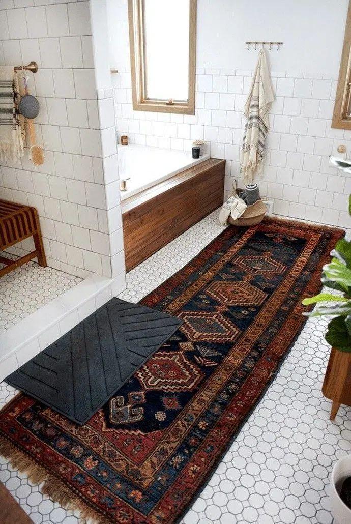 Bathroom Decorating Ideas In 2020 Boho Bathroom Bathroom Decor Minimalist Bathroom