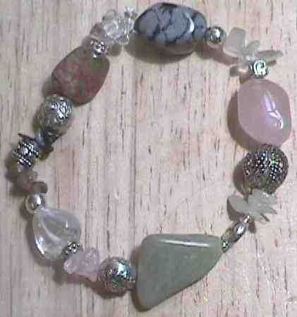 Crystal Fertility Bracelet Unakite Believed To Benefit Pregnancy And Childbirth The Female Male