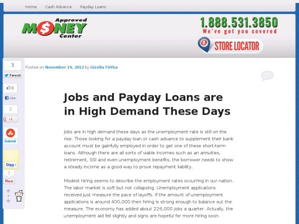 Jobs Are In High Demand These Days As The Unemployment Rate Is Still On The Rise Those Looking For A Payday Loan Or Cash A Car Title Payday Loans Loan Lenders