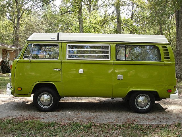 1978 VW Bus Westfalia Campmobile Other side by Russ Jackson, via Flickr